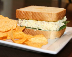 Texas Style Egg Salad Sandwiches with #LoneStarEggs
