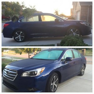 Drive in Style with the Subaru Legacy
