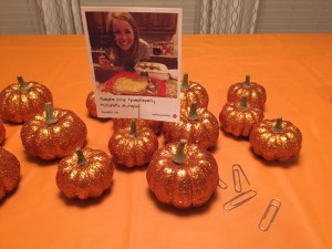 Pumpkin Party #StickaPic fun with HP Snapshots