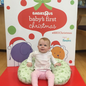 "Reminder: Celebrate Baby's First Christmas at Babies""R""Us"