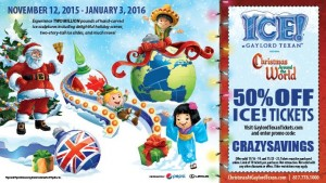 Save 50% on Gaylord ICE Tickets