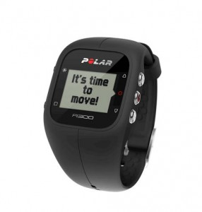 Pushing myself further with Polar A300 Fitness tracker