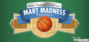 #MartMadness: Giveaways, Steals and Deals