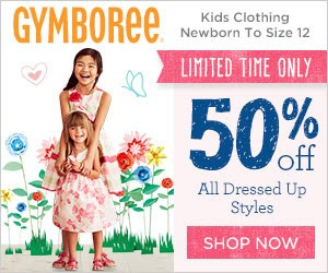 50% off All Dressed Up styles at Gymboree!