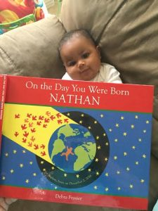 On the Day You Were Born, Nathan #iseemebooks