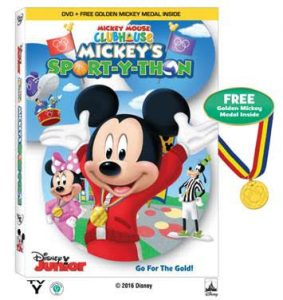 Micky Mouse Clubhouse: Mickey's Sport-y-Thon DVD (+ Giveaway)