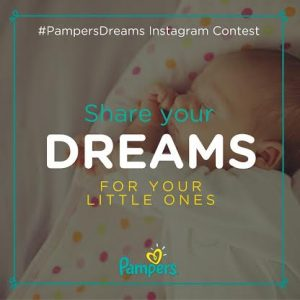 Cheering Dana Vollmer as she chases her #PampersDreams (+giveaway)