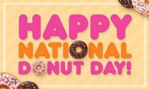 Tomorrow is National Donut Day!! #NationalDonutDay