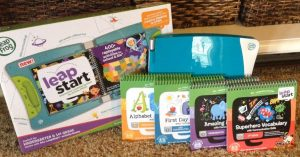 Learning and growing with LeapFrog LeapStart (+ Review and Giveaway!)