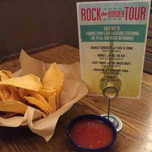 Rock the Border Live Music and Specials