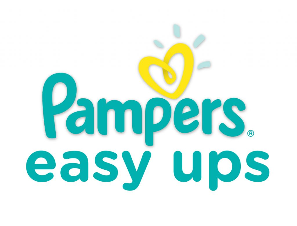 Pampers Easy Ups Logo