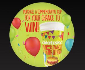 Celebrate 45 years with Schlotzsky's!
