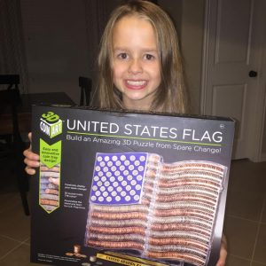Fun Gift Idea: 3D Coin Art US Flag