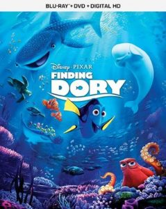 Finding Dory on Digital HD on Oct. 25 and Blu-ray™ on Nov. 15