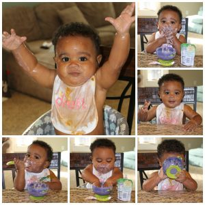 Saying yes to Messy Play with Dreft #MessiestBabyContest