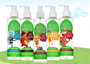 Fresh Monster Hair Care for Kids