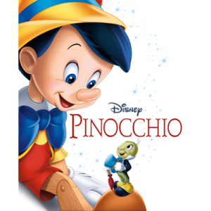 Disney's Pinocchio now on Bluray and Digital HD