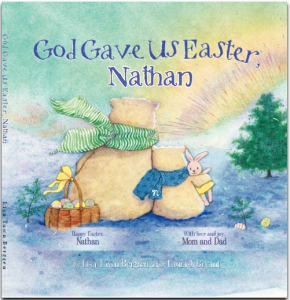 Personalized Books from the Easter Bunny Himself! (+ Giveaway)