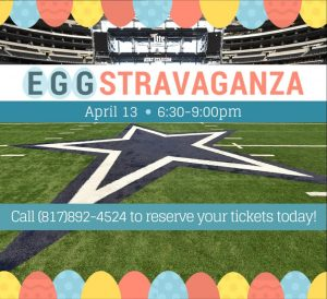 Eggstravaganza family fun at AT&T Stadium (+ giveaway!)