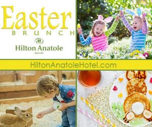 Easter Brunch at Hilton Anatole (+ giveaway)