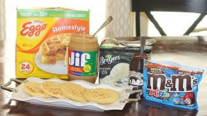 Create your own Eggo Waffle Bar!