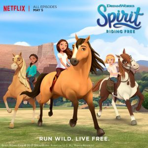 Spirit Riding Free, exclusively on Netflix