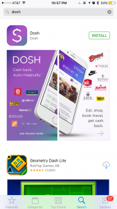 Get Cash Back with Dosh