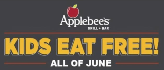 When All Kids Eat For Free >> Kids Eat Free All Day Every Day At Applebee S In June My Crazy Savings