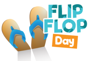 Save at Hawaiian Falls on National Flip Flop Day