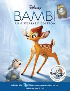 Bambi (Anniversary Edition) is coming out of the Vault on Tuesday, June 6th! (+ Giveaway)