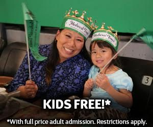 Kids are FREE at Medieval Times*