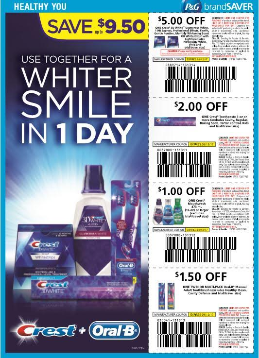 photograph relating to Crest Coupons Printable named Refreshing Crest Discount coupons (+ incredible discounts inside of retail outlet!) - My Insane Financial savings