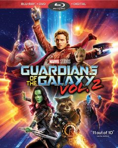 Guardians of the Galaxy Vol 2 now available on Blu-Ray (+ Giveaway)