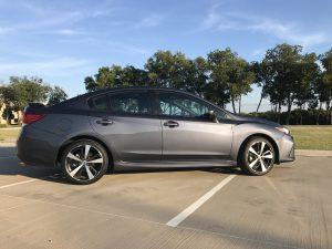 Recreating my first date in the new 2017 Subaru Impreza