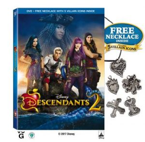 Disney Descendants 2 now available on DVD Aug 15th (+ giveaway)