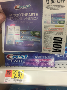 FREE Crest Toothpaste after Coupon and Ibotta Offer
