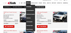 Shop the Specials at Kindle Auto Plaza