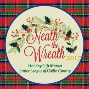 Plan now to shop at 'Neath the Wreath