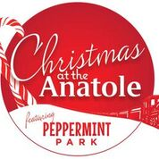 Christmas at the Anatole (+ Peppermint Park fun!)