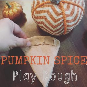 Getting Crafty: Pumpkin Spice Play Dough