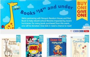 Pay it Forward with Zulily's Interactive Book Fair