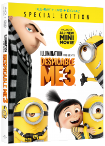 DESPICABLE ME 3 is now available on Blu-ray and DVD (+ Giveaway)