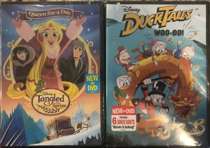 Tangled: Queen for a Day and Ducktales Review + Giveaway
