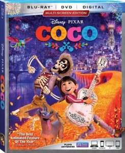Disney•Pixar's Coco is Coming on DVD/Blu-Ray and 4K