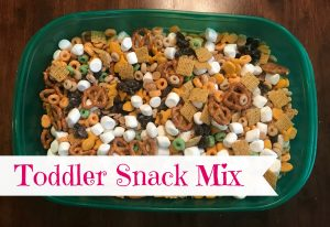 Toddler Snack Mix Recipe