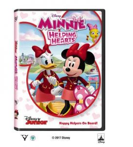 Minnie: Helping Hearts now on DVD/Blu-ray (+ giveaway)