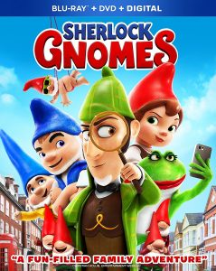 Sherlock Gnomes is now available on Digital and Blu-ray (+ giveaway)