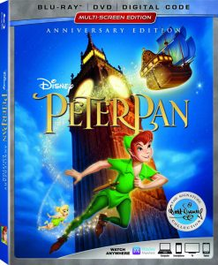 Walt Disney Signature Collection Peter Pan now on Digital and Blu-ray™