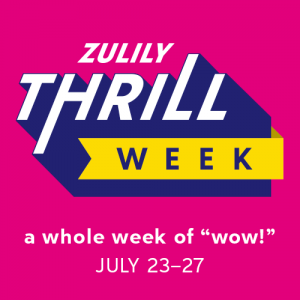 zulily THRILL Week of WOW Deals