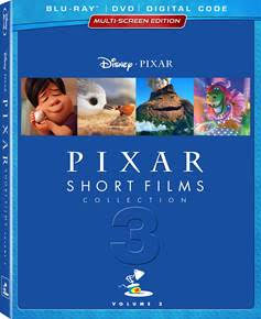 Disney PIXAR Short Films Collection 3 Review and Giveaway